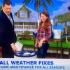Amy teaches seasonal home maintenance with Today Show hosts