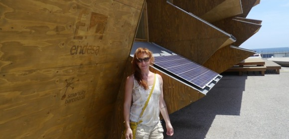 Amy Travels to Barcelona, Spain doing research on sustainable housing