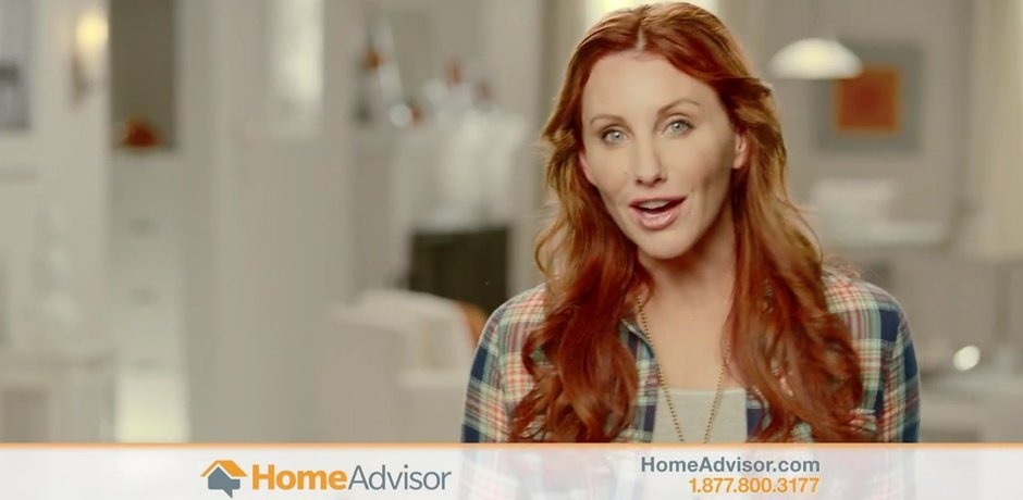 Amy appears in new HomeAdvisor commercial