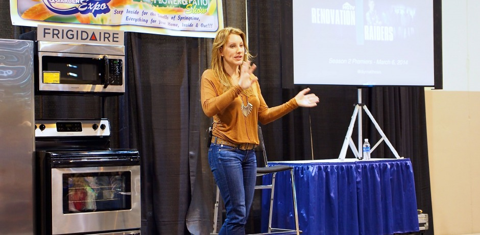 Amy appears at Omaha Home and Garden Show