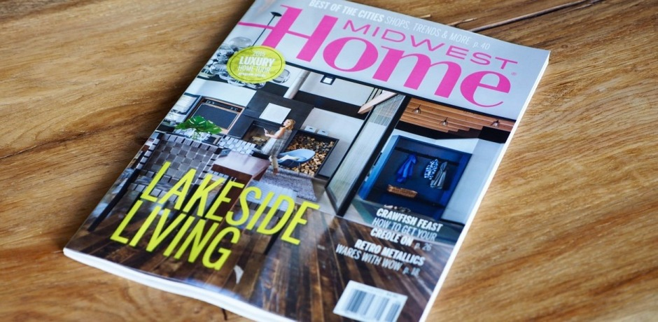 Amy interviewed by Midwest Home Magazine