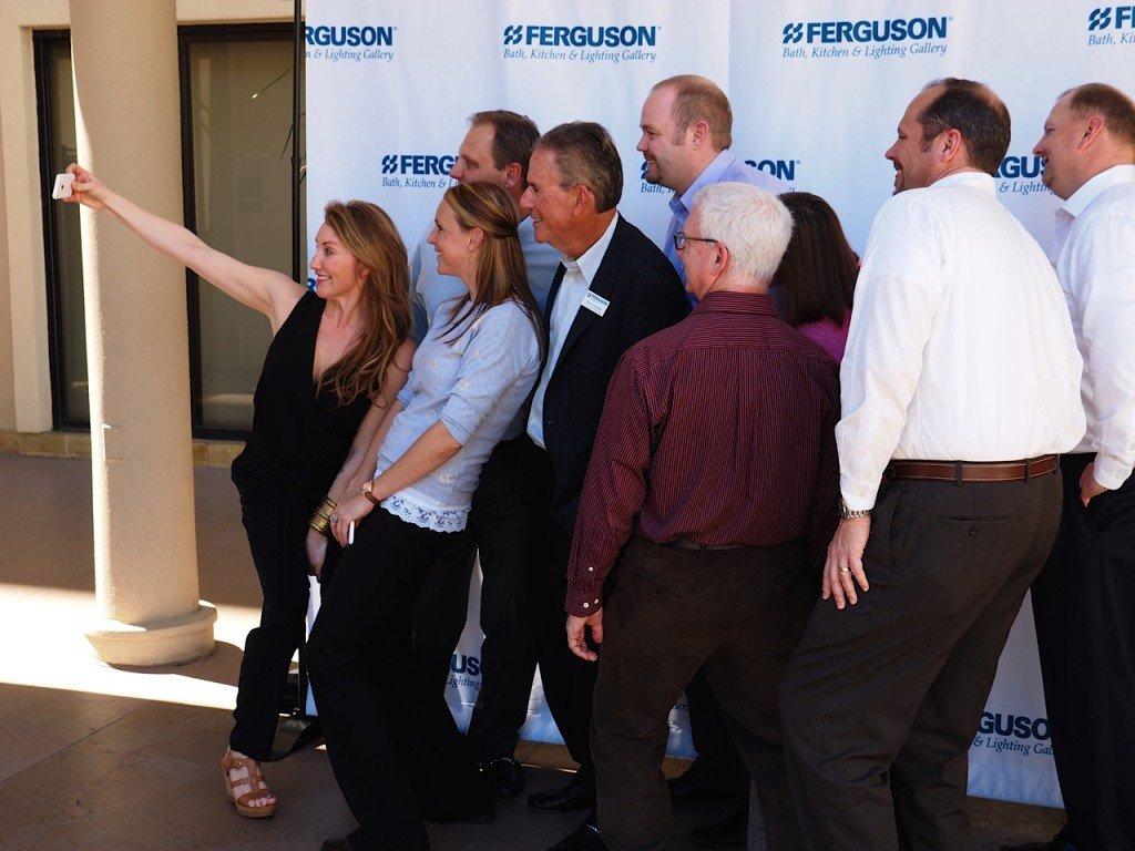 Ferguson Bath Kitchen Light Amy Speaks At Fergusons National Showroom Managers Meeting In San